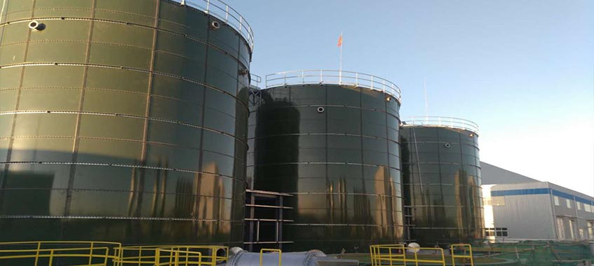 Beijing Landfill Leachate storage tank