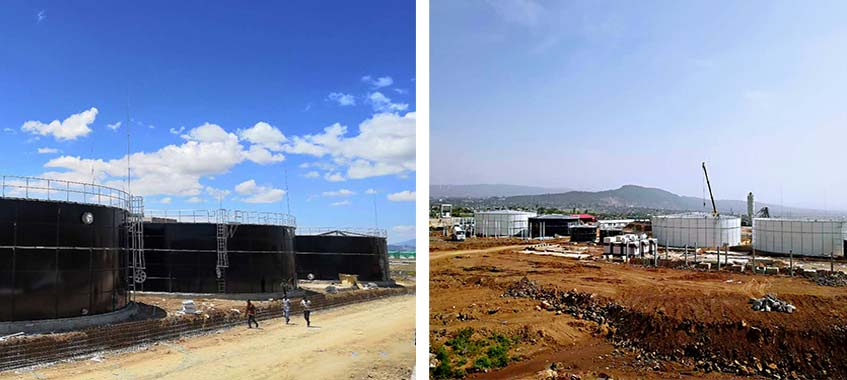 Industrial Wastewater Treatment Project For Industrial Parks In