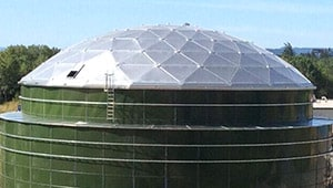 Aluminum Dome Roofs