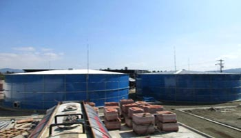 Agricultural water treatment project