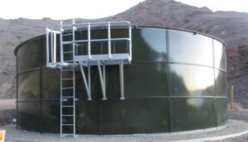 Secondary Agricultural Effluent Storage Tank
