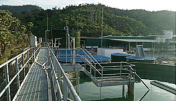 heineken wastewater treatment plant