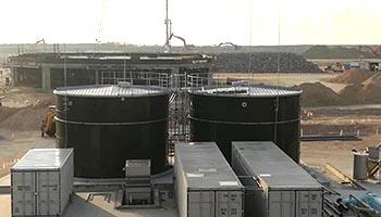 municipal wastewater treatment plant