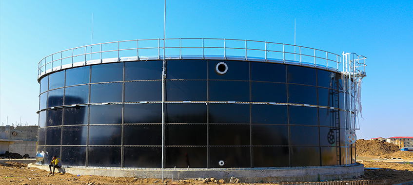 Glass-Fused-To-Steel Tank