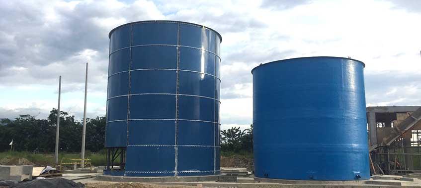Industrial Wastewater Storage Tanks