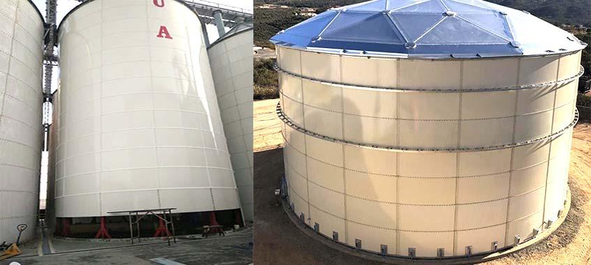 High-quality Dry Bulk Storage Tanks
