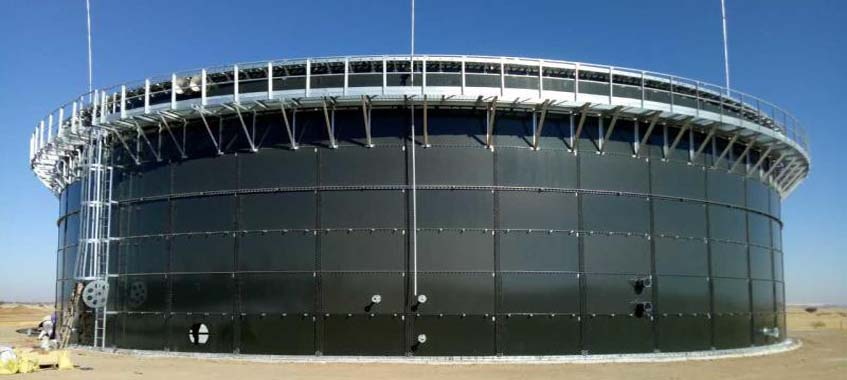 Municipal Sewage Storage Tanks With High Corrosion Resistance