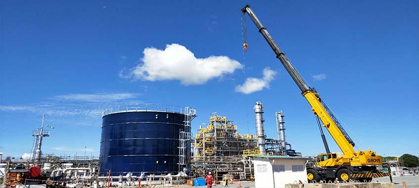 Fire Water Storage Tank In Brunei