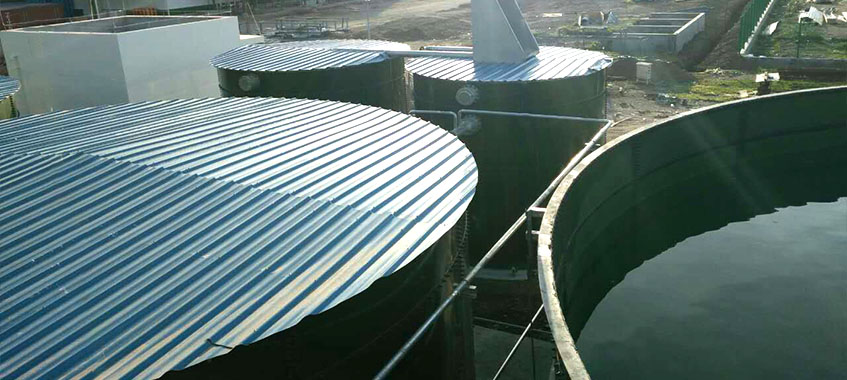 Glass-Fused-to-Steel Bolted Water Tanks