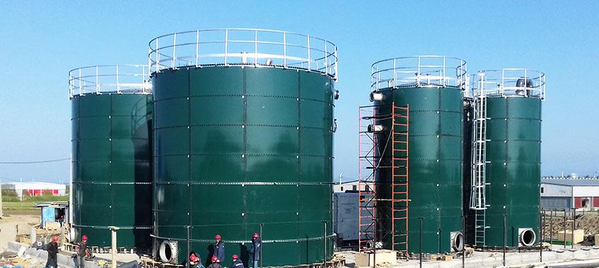 Industrial Water Tanks