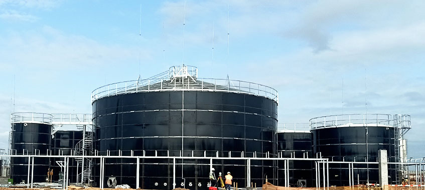 High-quality Glass-Fused-to-Steel Tank With NSF Certification