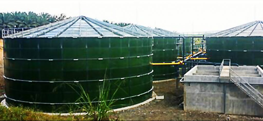 Palm Oil Wastewater Treatment Plant