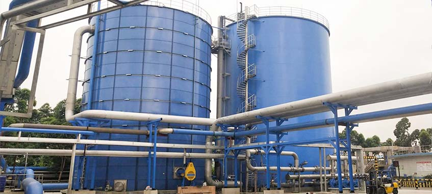 Papermaking Wastewater tanks