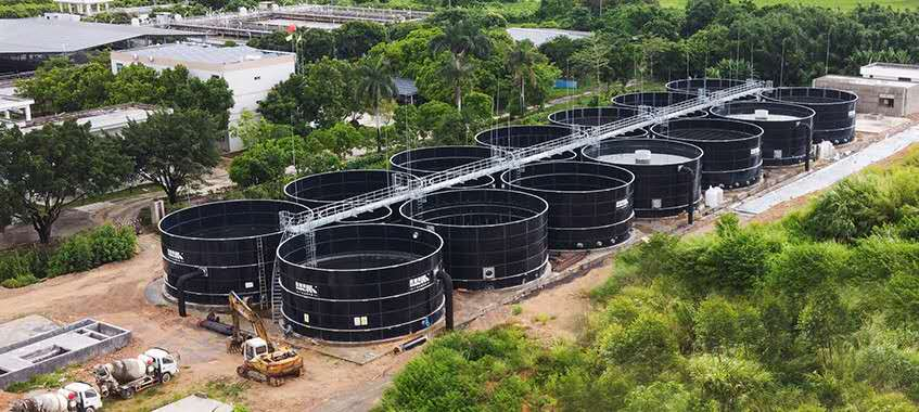 Complete Solutions for Industrial Park Wastewater Storage Tanks