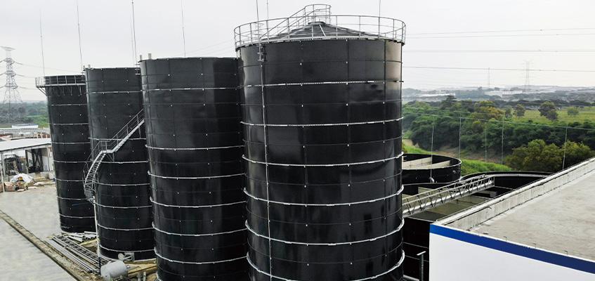 Dairy Wastewater   tanks