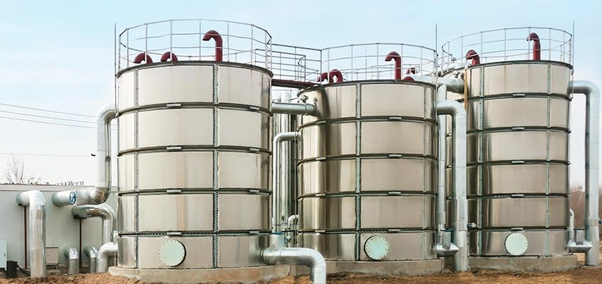 Stainless Steel Bolted Storage Tanks