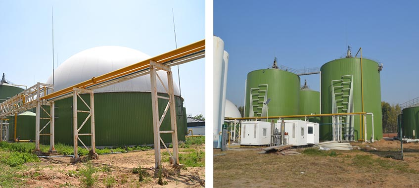 Biogas Tank For Bioenergy Project