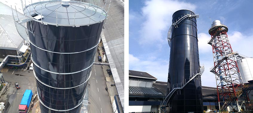 Fire Water Storage Tank of Tobacco Manufacture