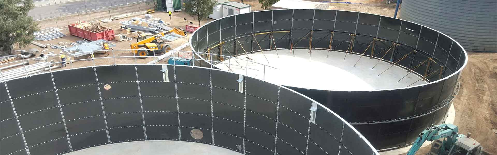 industrial wastewater tank