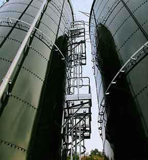 industrial wastewater storage