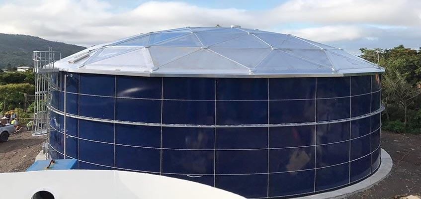 Aluminum Dome Roof