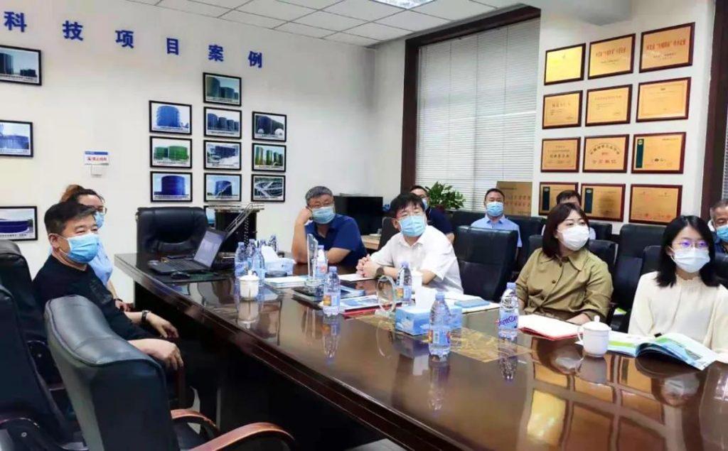 Zhengding County Magistrate Wang Liyong visited Zhengzhong Technology